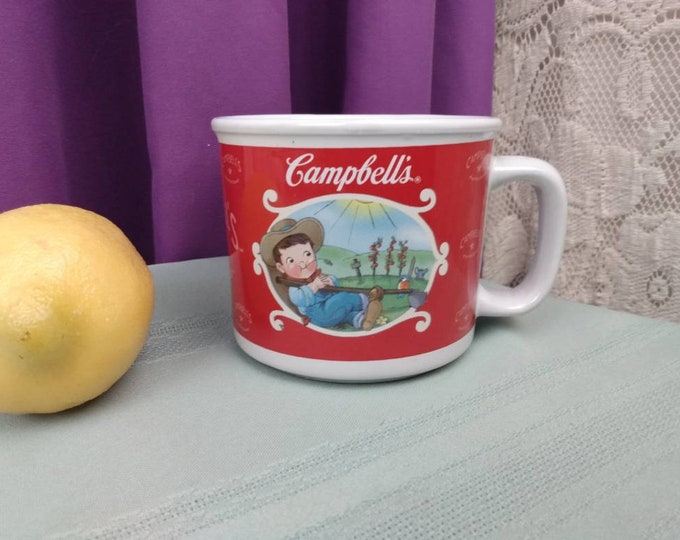 Campbell's Soup Mug Campbell's Kids Large Coffee Cup Collectible