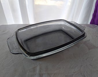 West Bend Vintage Blue Gray Glass Slow Cooker Textured Cover Lid Replacement