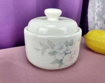 Morning Melody Sugar Bowl Keltkraft Ireland Misty Isle Collection By Noritake # 5198 Discontinued China