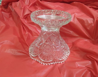 Imperial Glass 733 Punch Bowl Pedestal Base Broken Arches Early American Pattern 733 Replacement Wedding Decor American Brilliant
