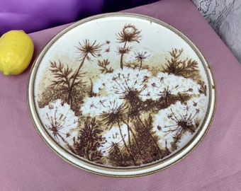 Mikasa Nature's Gallery D8004 Dinner Plate Stoneware Rolling Hills Replacement Retro Dinnerware Collectible Goes with D8000