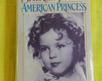 Shirley Temple American Princess CW. 1988 Library Book Edition Collectors Book Collecteable Books Anne Edwards ! Author