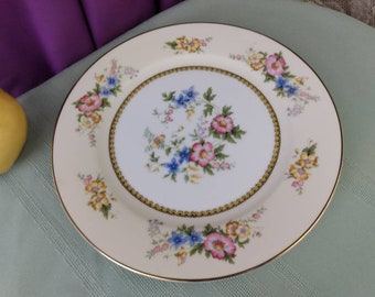 Noritake Wildfleur 82858 Floral Pattern Formal 10 Inch Dinner Plate Replacement Antique Hand Painted Dinnerware GrandesTreasures Wall Decor
