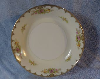 Royal Embassy Fine China Lincoln Pattern Set Of 6 Soup Bowls  7.5 Inch Diameter