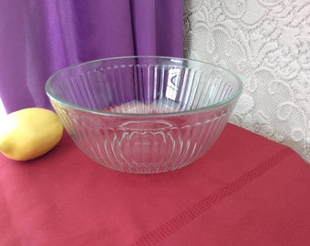 Pyrex Clear Vertical Ribbed Mixing Bowl  7403-S Mixing Nesting Bowl Sets Replacement