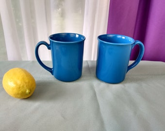 Deep Blue Cornflower Corelle Coordinate Mugs Ceramic Mugs Replacement Coffee Cups