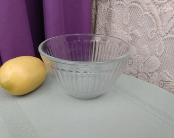 Pyrex Small Clear Vertical Ribbed Mixing Bowl 3 Cup 750 ml 7401- S Mixing Bowl Sets Replacement