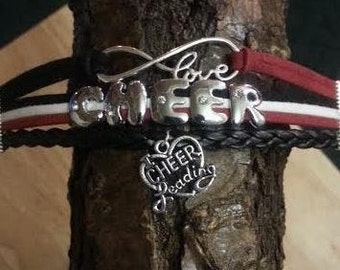 Cheer Leading Charm Bracelet