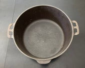 Wagner Ware Sidney Ohio Cast Iron Dutch Oven 1268 C