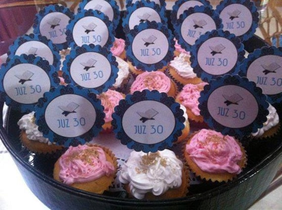 Cupcake Toppers Cup Cake Toppers Quran Favors Hafiz Ameen Etsy