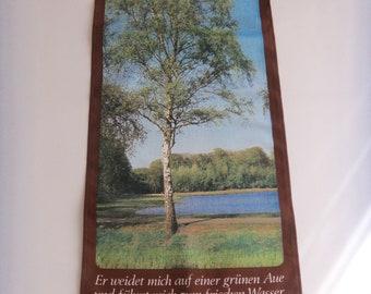 "1926 Vintage TREES /""WHITE BIRCH/"" GORGEOUS COLOR Art Print Lithograph"