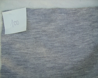 NO. 100 TISSUE JERSEY KNIT STRETCHY GRAY