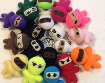Mini Ninja Plushies