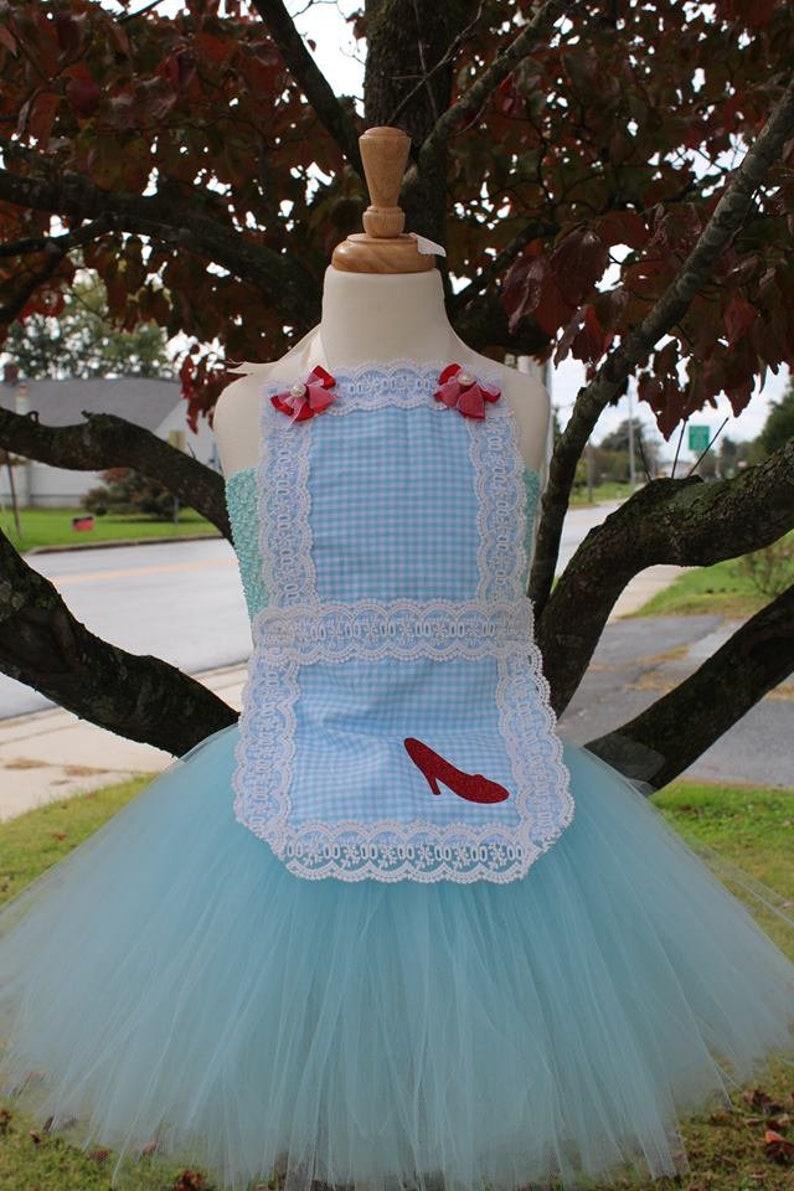 5121f84d5977 Dorothy Inspired Tutu dress Wizard of Oz Inspired Halloween   Etsy