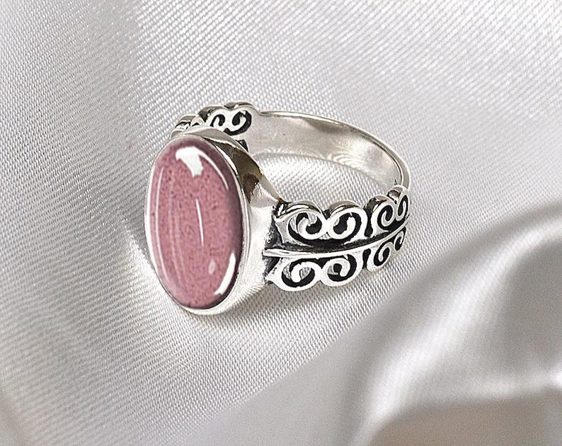 PET CREMATION ASHES Ring Filligree Ring 925 Sterling Silver Pet Cremation Ring Pet Memorial Ring Custom Pet Ash Jewelry Bereavement Ring
