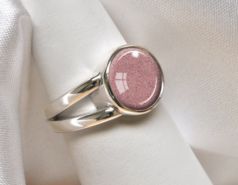 PET CREMATION ASHES Ring 925 Sterling Silver Cremation Ashes Dog Cat Horse Memorial Ring Cremation Jewelry Pet Bereavement Ring Sz 7