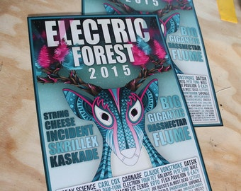 Electric Forest 2015 Poster