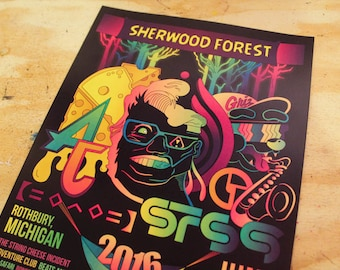 ELECTRIC FOREST 2016 POSTER