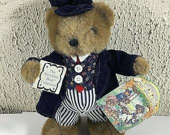 e80f49bae Ganz Storytime Bear Collection Daddy BEARSWORTH Teddy Plush Toy Doll 1992  NEW