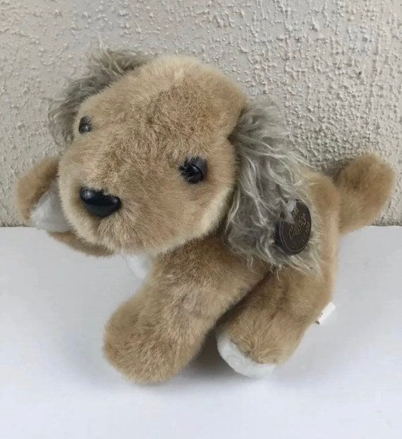 This Is Fine Dog Stuffed Animal, 1959 Teddy Bear Old Classics Brown Dog Plush By Fine Toy Nwt Etsy