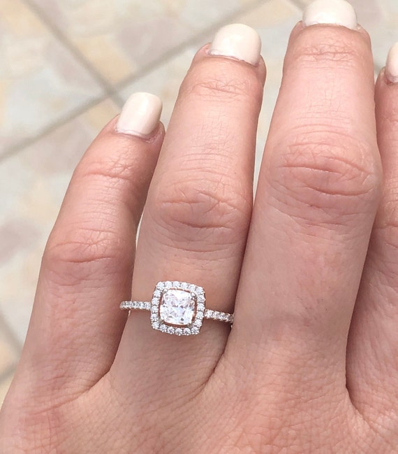 1.5mm Gold filled Cubic Zirconia Ring Size 5 Fast Shipping from USA Promise Ring Engagment Ring Birthday Gift