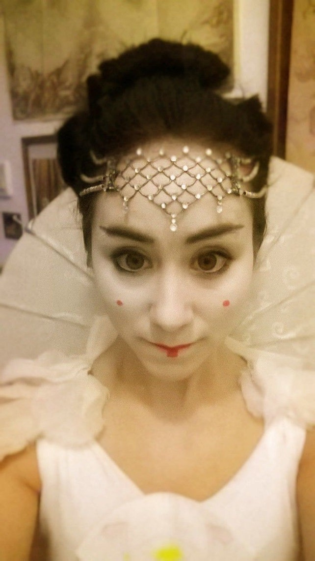 Star Wars Queen Amidala crystal head jewelry parade dress Star   Etsy