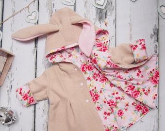 Baby girls hoodies sweatshirts etsy bunny jacket girls clothing baby negle Image collections