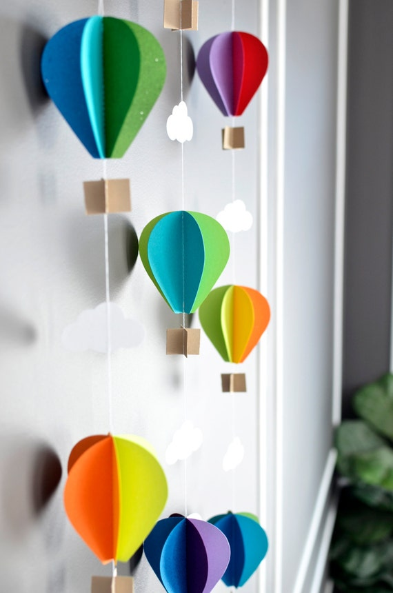 T y lejos Arco Iris globos de aire caliente Cuadro De Punto De Cruz