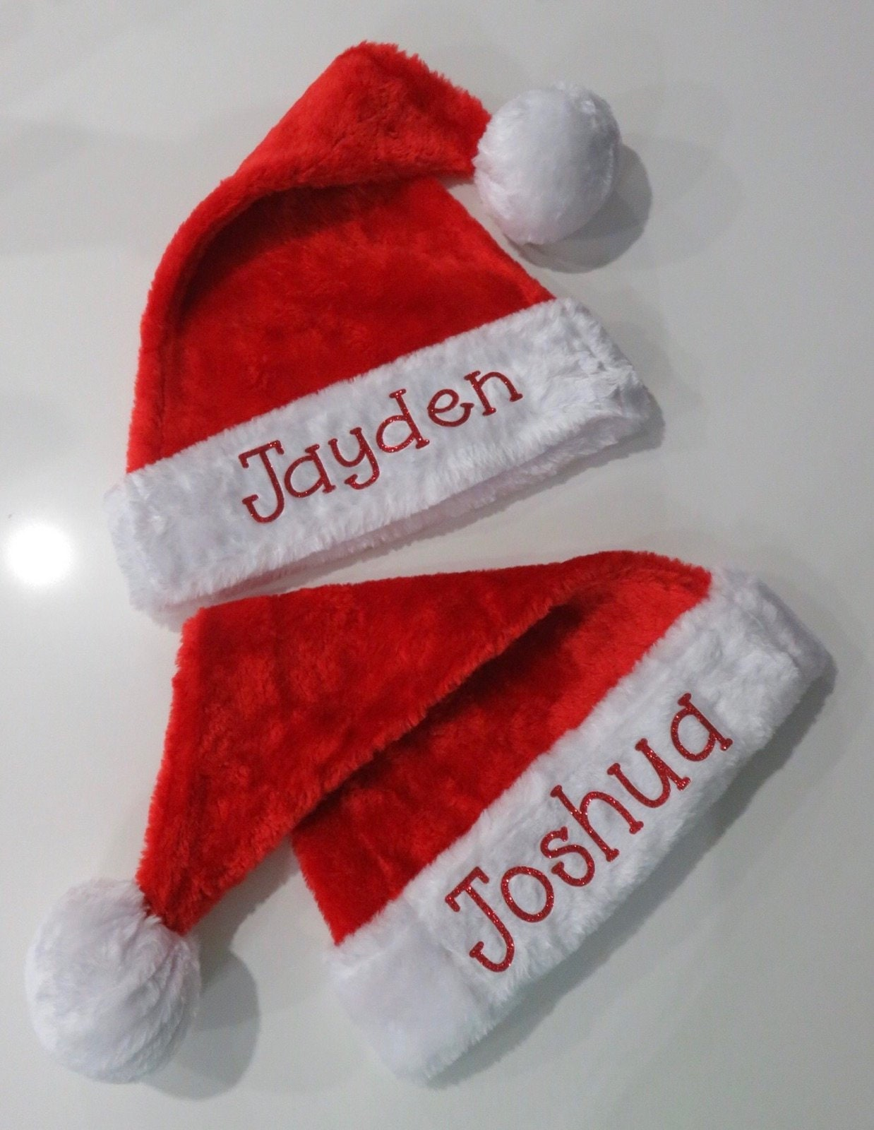 9e5acb83425d8 Personalized santa hat custom santa hat hats for kids