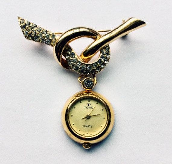 Vintage nurse watch