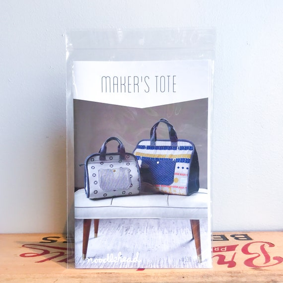 71e662e1dedf The Maker s Tote by Noodlehead Paper Sewing Pattern