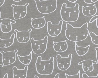 Hello Grey Knit - Hello Collection by Alexia Abegg - Cotton + Steel