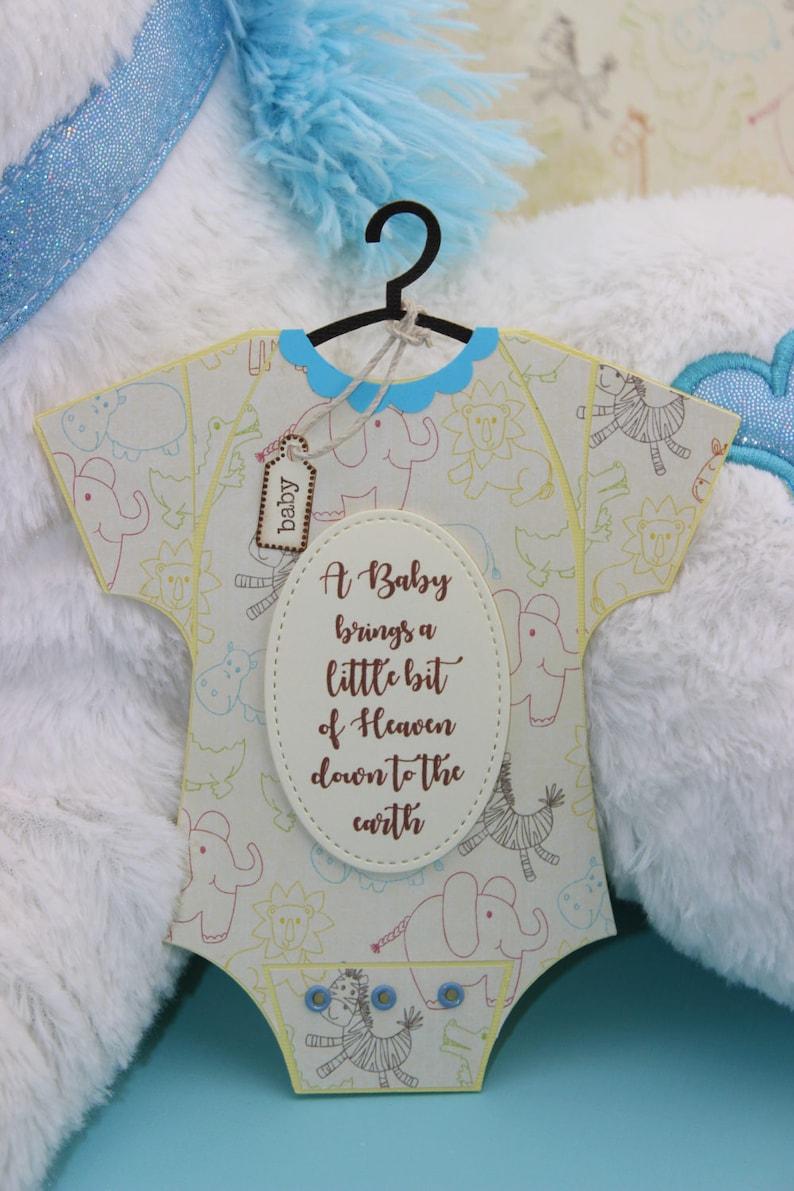 baby onesie cards baby shower invitation baby handmade  etsy