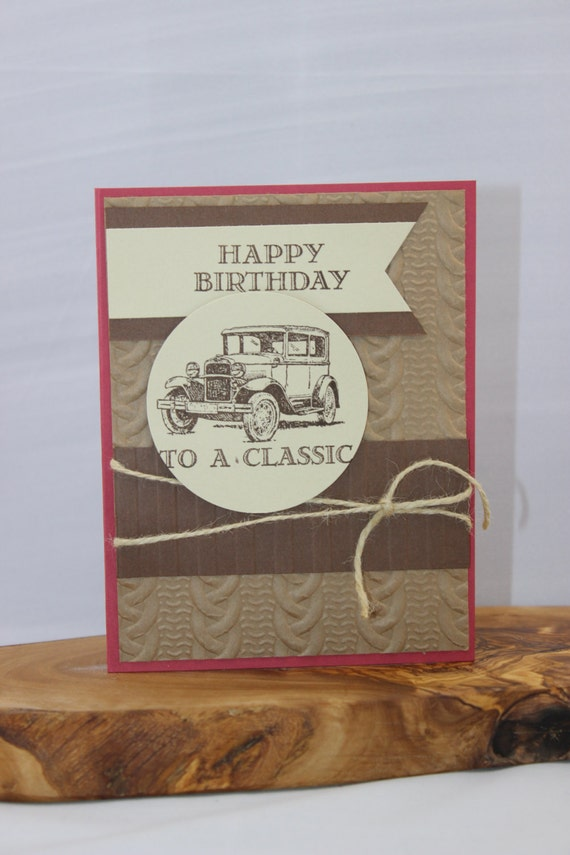 Masculine Birthday Card Stampin Up Masculine Cards Hand Made
