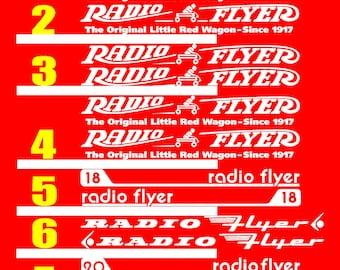 Radio Flyer Etsy