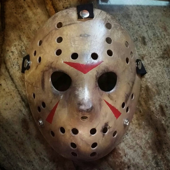 Friday The 13th Part 3 Jason Mask Replica Etsy