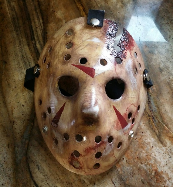 Friday The 13th Part 4 Jason Mask Replica
