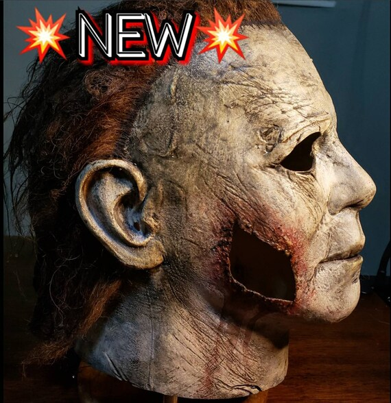 Halloween 2018 Michael Myers Mask.Halloween 2018 Michael Myers Special Edition End Scene Mask