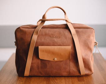 Leather Bag, Men's Leather Bag, Leather Briefcase, Leather Shoulder Bag, Men's Bag, Messenger Bag, Laptop Bag, Business Bag, Gift