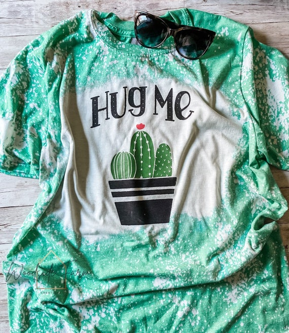 Hug Me Bleached Shirt