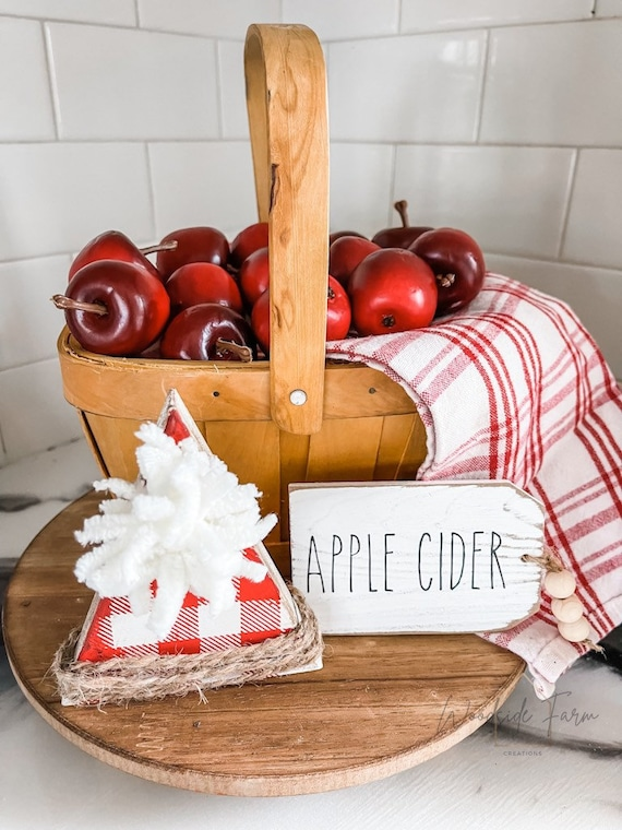 Wooden Apple Pie Slice