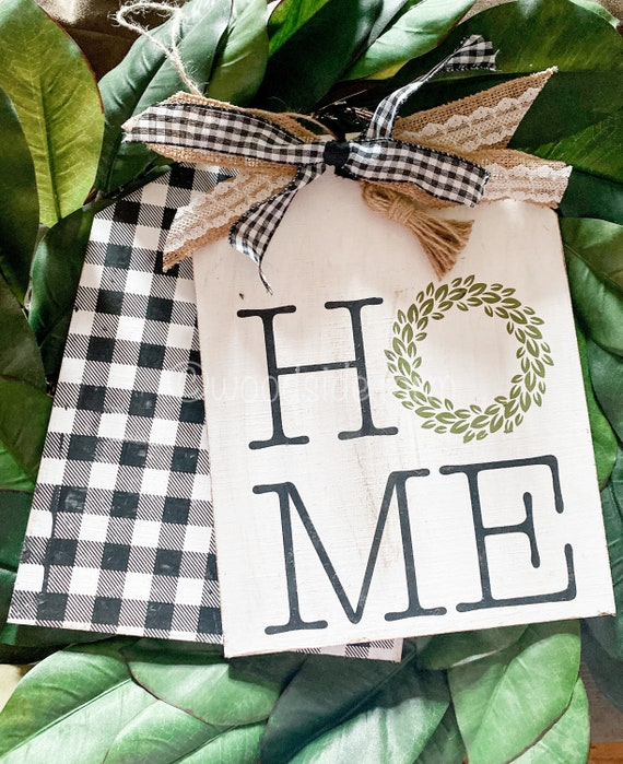 Home Door Tags/Wreath