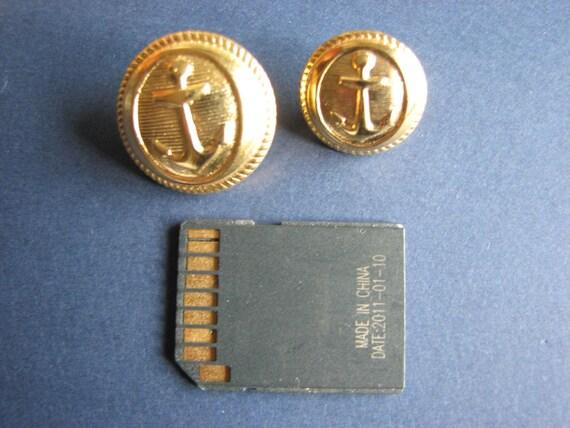 usar estilo con botones mmSin de 5 marineroBotones dorado anclas metal 19 EW2D9HI