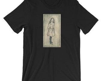 4c1ba9ae Arthur Rackham's Alice in Wonderland Short-Sleeve Unisex T-Shirt, Arthur  Rackham's Alice in Wonderland by Lewis Carroll