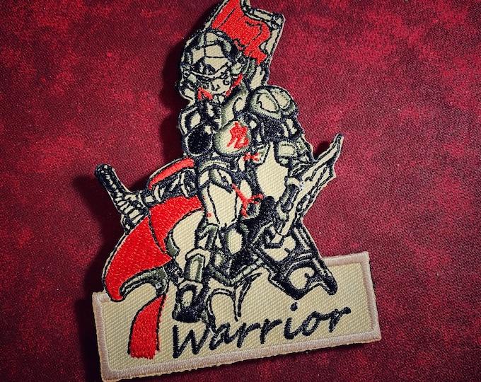 Warrior patch