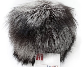 Real Fox Fur Hat, Russian fur hat F521