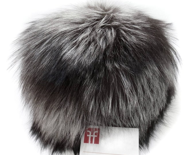 Real Fox Fur Hat, Russian fur hat F521