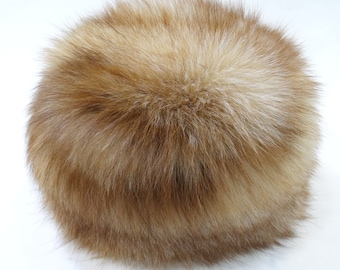 Fox Fur Hat, Warm Girl Ηat F514