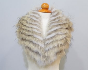 Real Large Fox Fur Collar F116