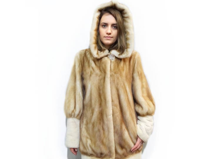Hooded Coat,Winter Fur Coat,Clothes for Cold
